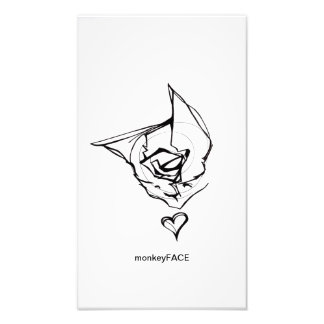 monkeyFACE (custom size) Photo Art