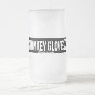 Monkeyglove Beer Holder Frosted Glass Beer Mug