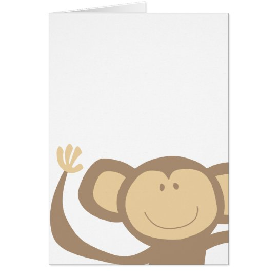 Monkeying Around Greeting Cards