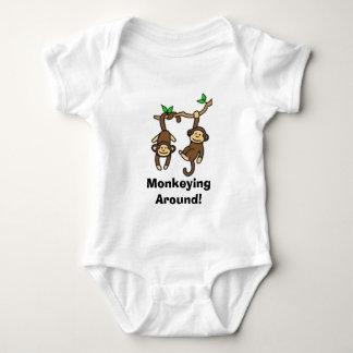 Monkeying  Around! Infant Creeper
