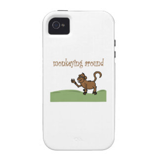 Monkeying Around iPhone 4/4S Covers