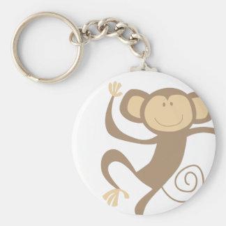 Monkeying Around Keychain