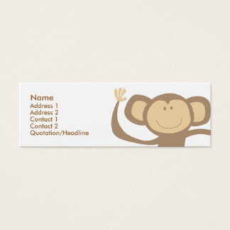 Monkeying Around Skinny Profile Cards