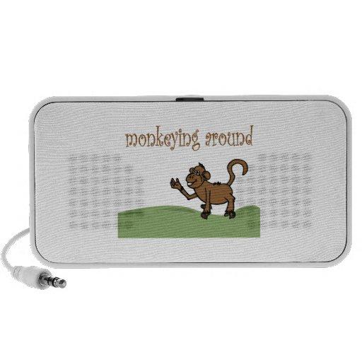 Monkeying Around Laptop Speakers