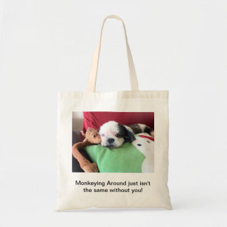 Monkeying Around Tote Budget Tote Bag