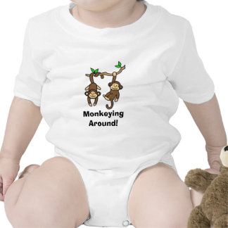 Monkeying  Around! Tee Shirts