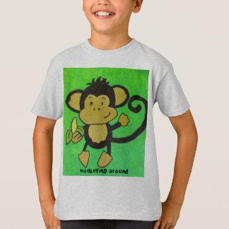 monkeying around tshirts