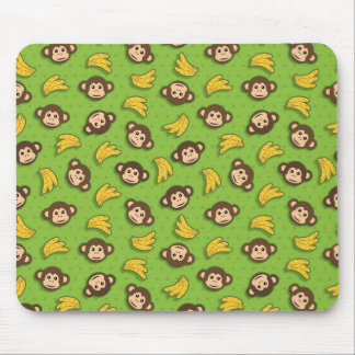 Monkeys and bananas mouse mat