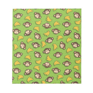 Monkeys and bananas notepad