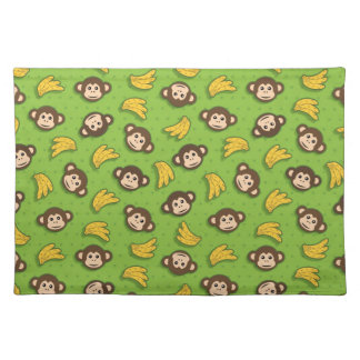 Monkeys and bananas placemat