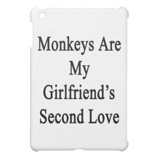 Monkeys Are My Girlfriend's Second Love iPad Mini Covers