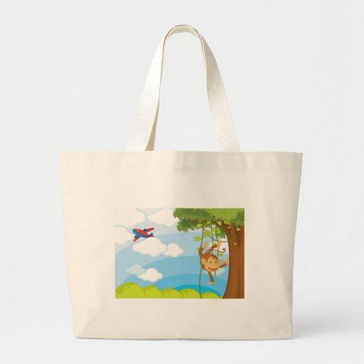 monkeys bags