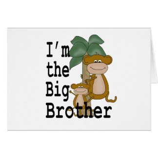 Monkeys Big Brother Card