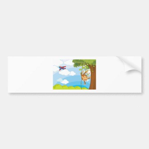 monkeys bumper stickers