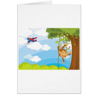 monkeys cards