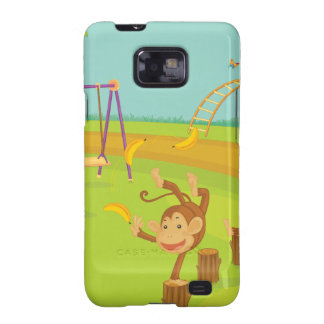 Monkeys Samsung Galaxy S2 Cover