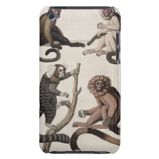 Monkeys (colour litho) Case-Mate iPod touch case