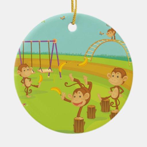 Monkeys Ornaments