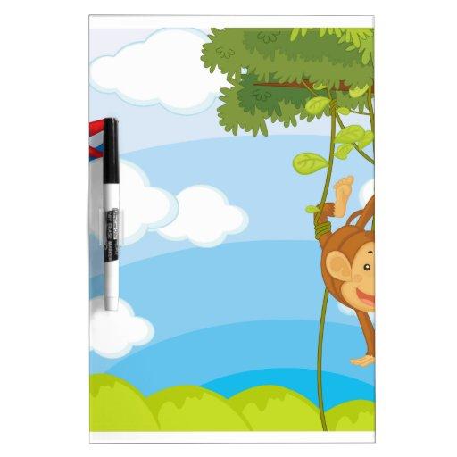 monkeys Dry-Erase board