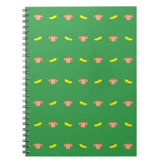 Monkey's Face With Banana's Notebook