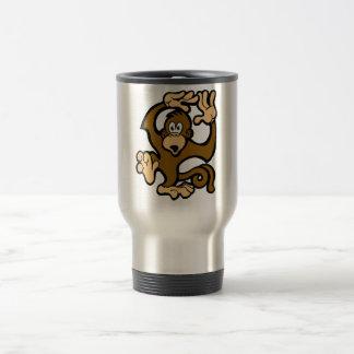 Monkeys Go Swimming Coffee Mugs