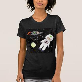 Monkeys in Space Walk Aliens Shirts