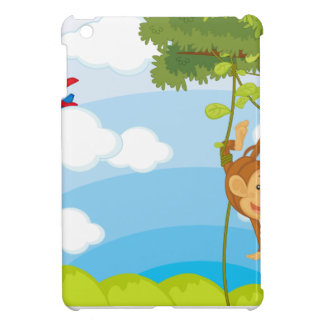 monkeys iPad mini case