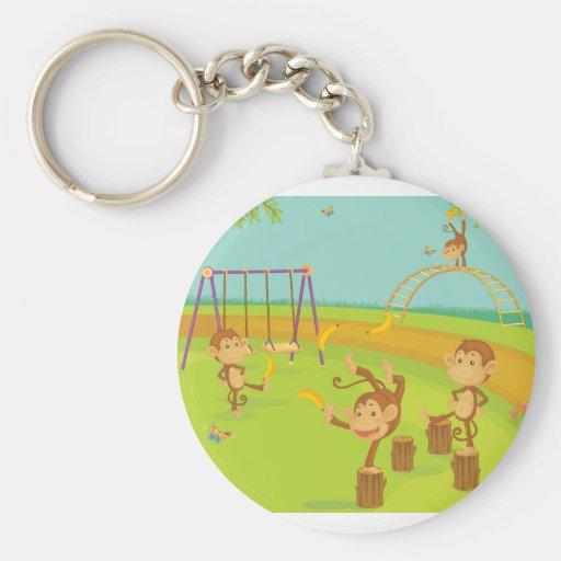 Monkeys Keychains