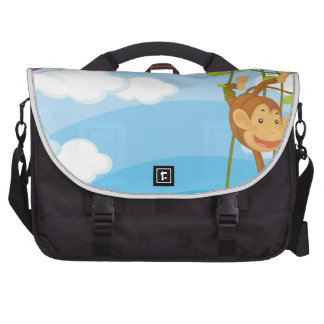 monkeys laptop computer bag