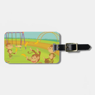 Monkeys Tag For Luggage