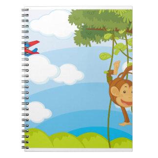 monkeys note book