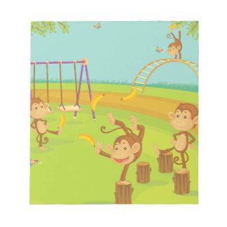 Monkeys Scratch Pad