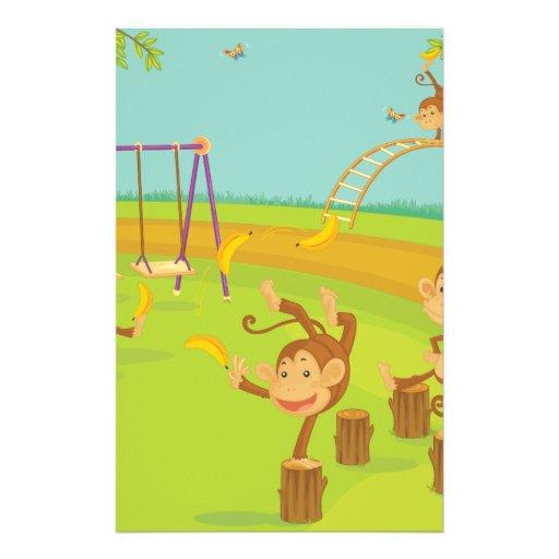 Monkeys Stationery