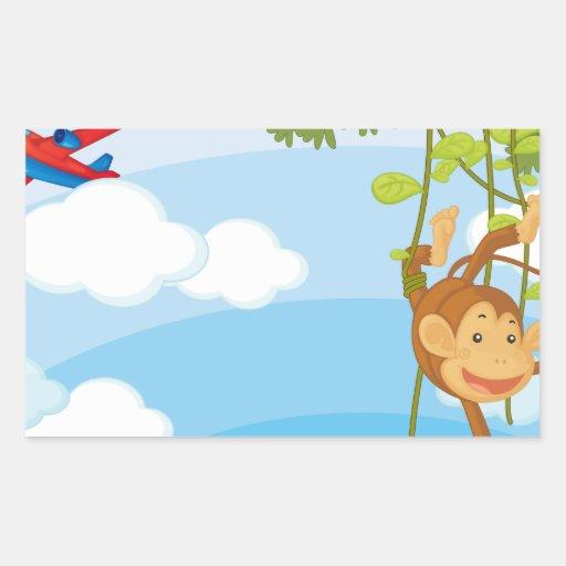 monkeys stickers