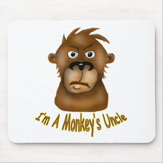 Monkey's Uncle Mouse Pad