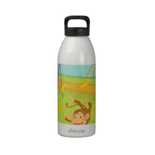 Monkeys Water Bottles