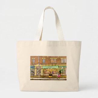 Monkland  Street Jumbo Tote Bag