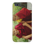 Monks at Deer Park iPhone Case iPhone 5 Cases