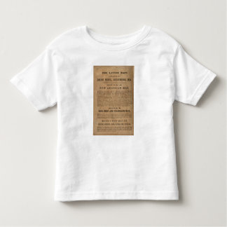 Monk's Central America, Cuba, and Florida Toddler T-Shirt