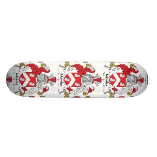 Monks Family Crest Skate Board Decks