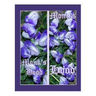 MONKSHOOD BOOKMARKS POSTCARD