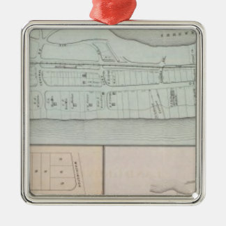 Monmouth Beach property in New Jersey Christmas Ornament