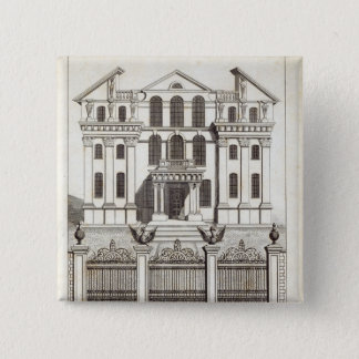 Monmouth House, Soho Square 15 Cm Square Badge