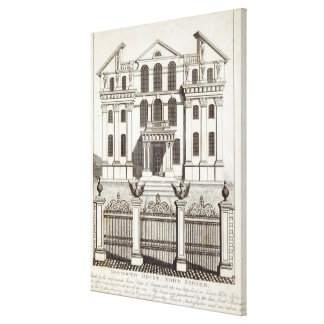 Monmouth House, Soho Square Canvas Print