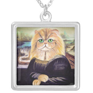 Monna Kitty Silver-Plated Necklace