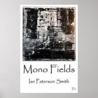 Mono Fields Poster