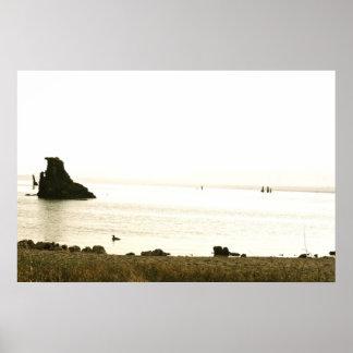 Mono Lake Morning Poster