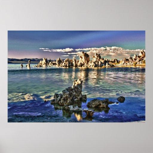 Mono Lake Poster and Frame