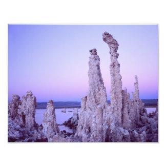 Mono Lake Reserve. California. USA. Tufa Photo