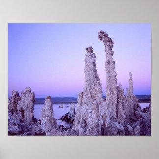 Mono Lake Reserve. California. USA. Tufa Poster
